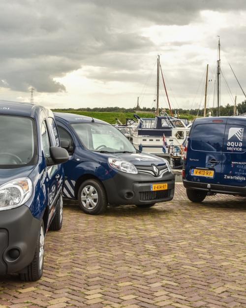 Aquaservice nog flexibeler met drie nieuwe bussen
